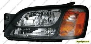 Head Light Driver Side Gt Outback Without Sport High Quality Subaru Legacy 2000-2004