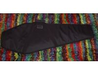 COFFIN Shaped Padded Guitar Case / Gig Bag. Brand New.