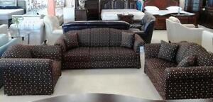 CANADIAN MADE ELEGANT BROWN COUCH ON SALE: GRAND SALE: (AD 212)