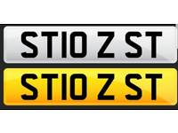 Ford focus/fiesta ST Private plate
