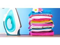 Ironing service £20 for 35 items
