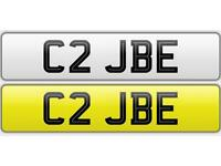 Private Plate - C2 JBE - cherished number plate