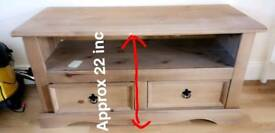 Tv unit stand with drawer storage