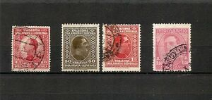 YUGOSLAVIA 1924-1926-1932, Alessandro I, 4v usati (pha051) - Italia - YUGOSLAVIA 1924-1926-1932, Alessandro I, 4v usati (pha051) - Italia