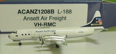 Aeroclassics 1:400  L-188 Electra  Ansett Air Airlines  VH-RMC - ACANZ1208B for sale  Shipping to Canada