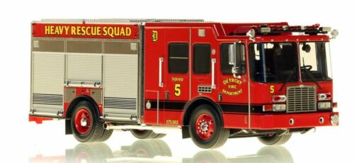 Detroit FD HME Heavy Rescue Squad 5 1/50 Fire Replicas FR080-5 New Last One
