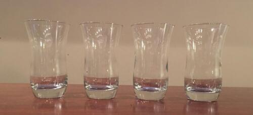 VINTAGE Libbey MARTELLO 12 oz. Drinking Glasses  4-Piece Set
