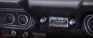 1964 1965 1966 Mustang New Slidebar Radio AM/FM RDS USB Aux MP3