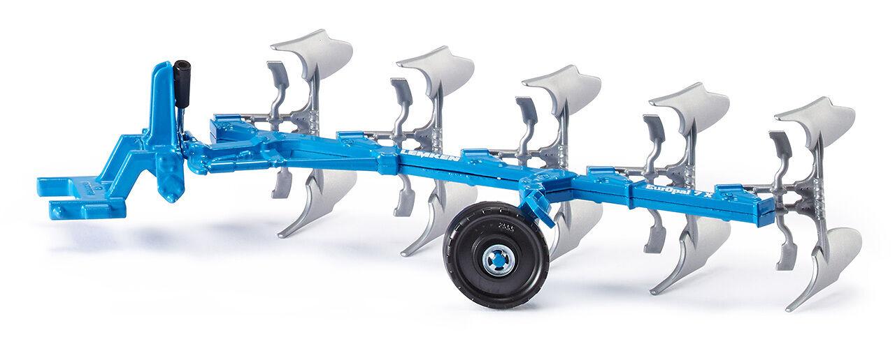Siku 2051 Lemken Volldrehpflug Landwirtschaft Modell Fahrzeug Anhänger Pflug