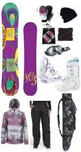 Ladies Snowboard Mega Deal. Get the lot $999 *NEW* Was $1599 Liverpool Liverpool Area Preview