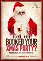 Book your caterer for Christmas party before it's to late l