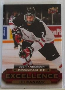 2015-16 UPPER DECK SERIES TWO PROGRAM OF EXCELLENCE UD CANVAS