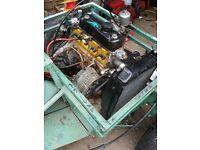 A+ Mini 1000cc Auto engine and box rebuilt