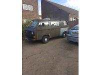 VW T25 Camper Van, 1.9 Petrol, MOT