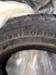15in Winter Tires For Sale - Only Used 1 Season!