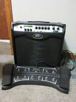 Peavey VIP3 and matching Sanpera II Pedal