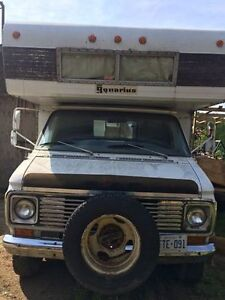 1973 Chevy Acquairus motorhome for sale