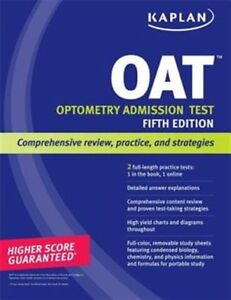 Kaplan OAT 5th Edition - NEW - no marks Optometry Admission Test