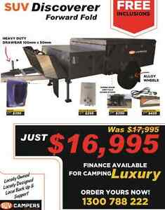 **SUV DISCOVERER** FORWARD FOLD HARD FLOOR CAMPER! Parkhurst Rockhampton City Preview