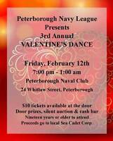 3rd Annual Charity Valentine's day dance