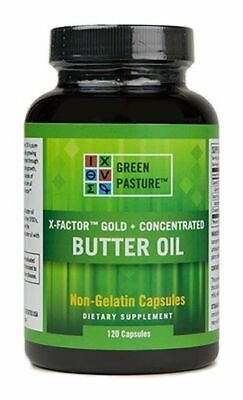 X-Factor Gold High Vitamin Butter Oil 120 (X Factor Gold High Vitamin Butter Oil)