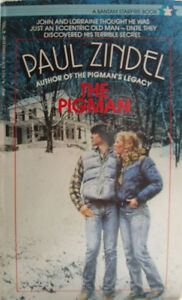 Paul Zindel-The Pigman-paperback/young adult fiction + bonus