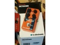 Tc Electronic Sub N Up Octaver Guitar Pedal