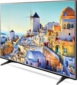 "LG 49UH603V 49"" 4K HDR Ultra-HD Smart LED TV 1200 PMI WebOS 3.0 Ex-Display/New.Boxed"