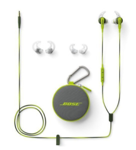 Bose Soundport in ear sport headphones with mic - Green