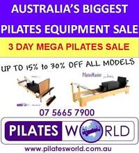 AUSTRALIAS BIGGEST PILATES REFORMER 3 DAY SALE- PILATES WORLD Helensvale Gold Coast North Preview