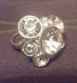 Karen Millen Ring. Unwanted gift. Never been worn.