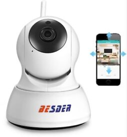 BESDER HD 720P IP Camera Wifi PTZ Security Two Way Audio Night Vision IP Camera P2P Cloud iCSee
