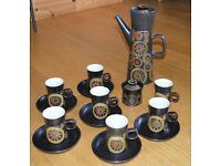 Denby Arabesque Coffee Set