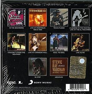 STEVIE RAY VAUGHAN, COMPLETE EPIC RECORDING  COLLECTION Kitchener / Waterloo Kitchener Area image 2