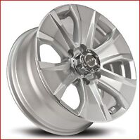 Roues (Mags ) Wedge Argent 17 pouces