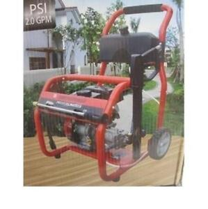 NEW* POWER PLUS PRESSURE WASHER PPG2000H-S-2 187444909 2000 PSI 2.0 GPM GASOLINE POWERED GAS CAR CLEANING DRIVEWAY 98CC