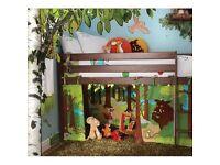Gruffalo playhouse curtains