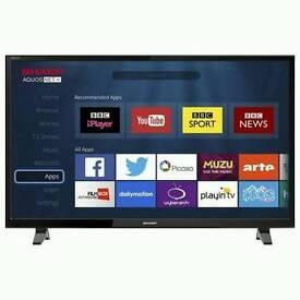 Sharp 49 inch smart LED TV