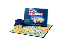 Sealed Super Scrabble Special Edition - Giant Sized Board, Twice as Many Tiles