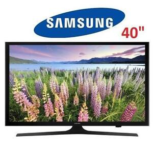 "NEW OB SAMSUNG LED SMART HD TV 40"" - 117102512 - UN40J5200AF"