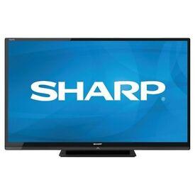 """Sharp 60"""" Full HD 1080p LED TV."""