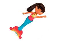 Dora the Explorer Mermaid, Dora and Friends Dive & Splash Mermaid, Zuru Robo Mermaid