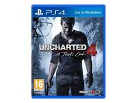 Uncharted 4: A Thief's End PS4 For Play Station 4