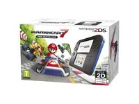 Nintendo 2DS with Mario Kart. New