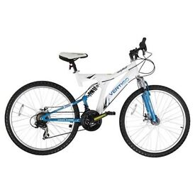 "Like new, 24"", 21 speed, dual suspension mountain bike"