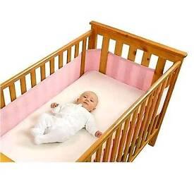 Cot bed air wrap