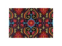 Bright ethnic style rug