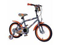 "16"" Urban Rider Bike With Stabiizers"
