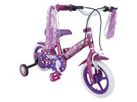 "Girls Pink 12"" Zinc Cupcake Bike - age 3 to 5"