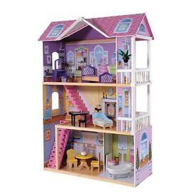 ELC large wooden manor house
